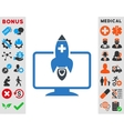 Medical Startup Icon vector image