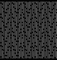 white irregular rounded lines black background vector image
