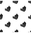 firewall icon in black style isolated on white vector image