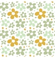 Abstract Flowers Seamless Pattern Texture vector image vector image