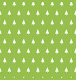 christmas seamless pattern with christmas trees on vector image