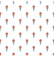 microphone pattern seamless vector image vector image