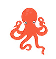 Sea creature octopus vector image vector image