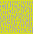 seamless pattern with dashed lines vector image