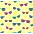 Summer and sunglasses vector image vector image