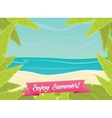 Summer or spring time background vector image vector image