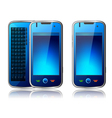qwerty mobile phone vector image