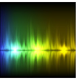 abstract equalizer background blue-green-yellow vector image