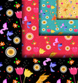 Abstract pattern cute vector image vector image