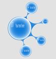 Banner bubble vector image