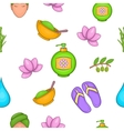 Beauty pattern cartoon style vector image vector image