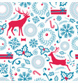 christmas pattern lots icon vector image