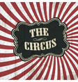classical circus background vector image vector image