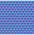 colorful geometric abstract background seamless vector image vector image