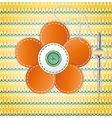 Colorful scrapbook with flower vector | Price: 1 Credit (USD $1)