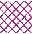 diagonal cross brush strokes seamless pattern vector image vector image