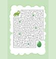 dinosaur mazes for kids maze games worksheet vector image vector image