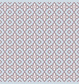 geometrical lace in blue and dusty pink vector image