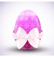 happy easter egg icon vector image vector image