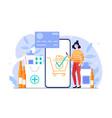 online pharmacy e commerce store vector image