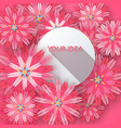 paper abstract flower four items vector image