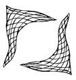 plaid checkered check neckerchief ink vector image