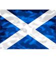scottish flag vector image