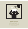 Shower vector image vector image