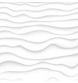 white and gray curve gradient texture simple wavy vector image