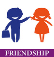 friendship vector image