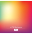 gradient colorful background vector image vector image