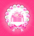 Little Princess Background vector image
