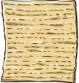 Matzah Matzo For Passover vector image