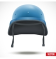 Military helmet of United Nations vector image vector image