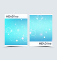 modern templates for brochure cover vector image vector image