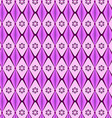 patterns geometric diamond purple vector image vector image