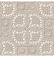 Seamless lace texture vector image vector image