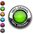 100 original button vector image vector image