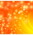 Abstract Light Orange Wave Background vector image
