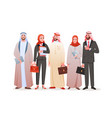arab business people team ethnic group young