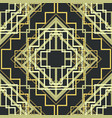 art deco seamless pattern background vector image