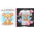 cte baby leopard - idea for print t-shirt