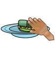 dish soap design vector image vector image