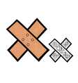 First Aid Plaster vector image