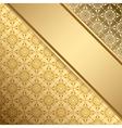 golden vintage background with gradient
