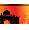 Islamic mosque vector image vector image