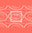living coral trendy background with impossible vector image vector image