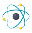 model atom icon vector image