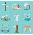 Popular Sightseeing vector image
