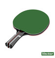 racket for table tennis photo-realistic vector image